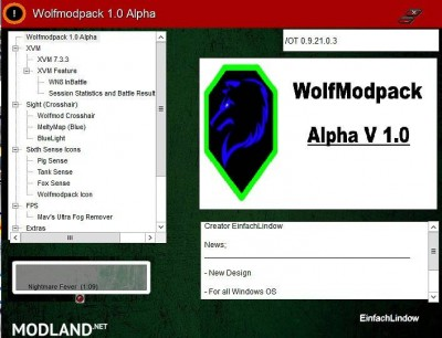 Downloading WolfModPack 1 1 ALPHA [9 22 0]